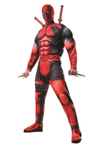 Deadpool Deluxe Men Adult Costume