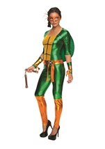 Michelangelo Women Ninja Turtle Costume