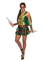 Raphael Women Sexy Ninja Turtle Halloween Costume