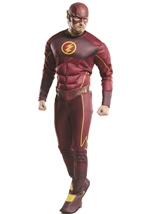 Flash Tv Show Men Deluxe Costume