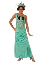 Lady Liberty Woman Costume