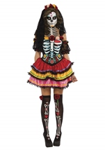 Day Of The Dead Seniora Woman Costume