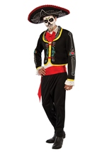 Day Of The Dead Senior Men Costume