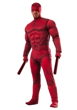 Daredevil Deluxe Muscle Men Costume