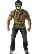 Hulk Men T Shirt Costume