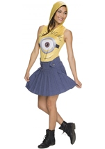Minions Woman Hooded Costume