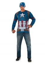 Captain America Retro Civil War Costume