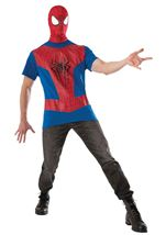 Spider Man Costume Kit Men