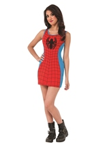 Spider Woman Sexy Tank Dress Woman Costume