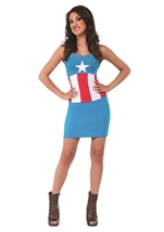 Captain America Tank Dress Woman Costume