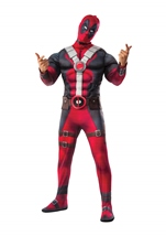 Deadpool Deluxe Muscle Chest Men Costume
