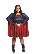 Supergirl Woman American Hero Plus Costume