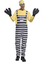 Minion Jail Tom Men Despicable Costume