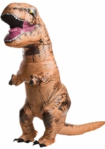 Inflatable T Rex Adult Jurassic Costume