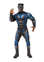 Battle Suit Black Panther Men Costume