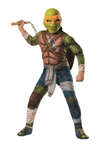Michelangelo Deluxe Adult Teenage Mutant Ninja Turtle Halloween Costume