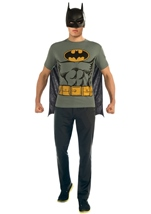 Batman T Shirt Men Costume Kit