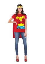 Wonder Woman T Shirt Costume