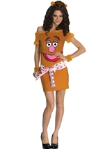 The Muppets Fozzie Bear Women Costume