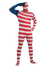 American Flag Bodysuit Patriotic Costume