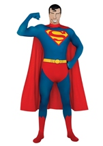Superman 2nd Skin Suit Men Costume