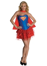 Super Girl Corset Woman Costume