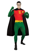 DC Comics 2nd Skin Robin Men Costume