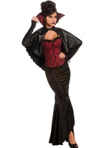 Vampiress Woman Deluxe Costume