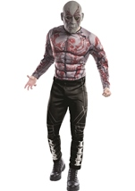 Drax The Destroyer Men Deluxe Guardians Of Galaxy Costume