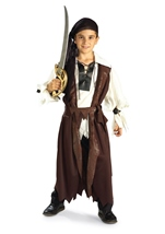 Boys Pirate Carribean Costume