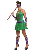 Donatello Ninja Turtle Woman Costume