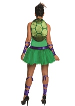 Adult Donatello Ninja Turtle Woman Costume