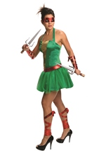 Raphael Ninja Turtle Women Costume