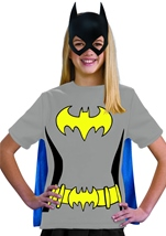 Batgirl Tween Girl Shirt Costume