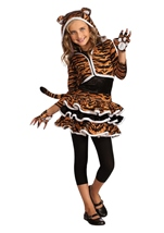 Tigress Hoodie Girls Costume