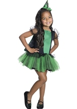 The Wizard of Oz Wicked Witch of The West Girls Costume