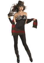 Nightmare on Elm Street Women Sexy Freddy Costume