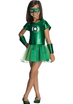 Green Lantern Tutu Girls Costume