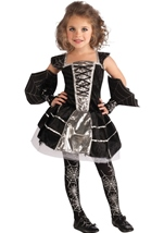 Girls Spiderella Witch Costume
