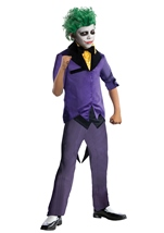 Gothams Joker Super villain Boys Costume