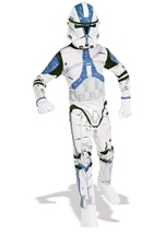 Clone Trooper Boys Star Wars Costume