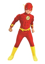 Flash Muscle Chest Boys Costume