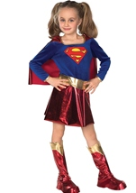 Deluxe DC Comics Girls Superman Costume