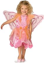 Pink Pixie Girls Fairy Costume