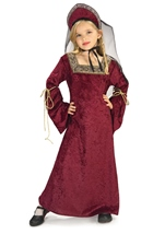 Lady Of The Palace Girls Renaissance Princess Costume