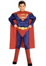 Superman Kids Muscle Costume