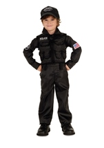 Boys SWAT Police Classic Costume
