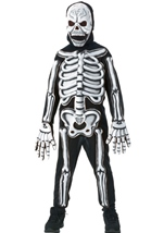 Glow In The Dark Skeleton Boys Costume