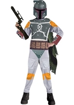 Boba Fett Boys Star Wars Costume
