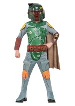 Boys Boba Fett Deluxe Star Wars Costume